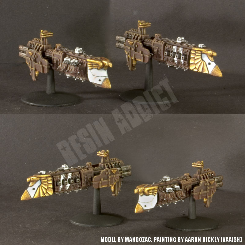 Customs Kits pour les Spaces Marines, Navy et Inquisitions Zeus-painted
