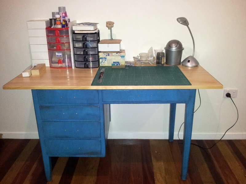 Resin Addict Blog Archive New Hobby Desk