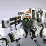 Forward main sensor array and railguns